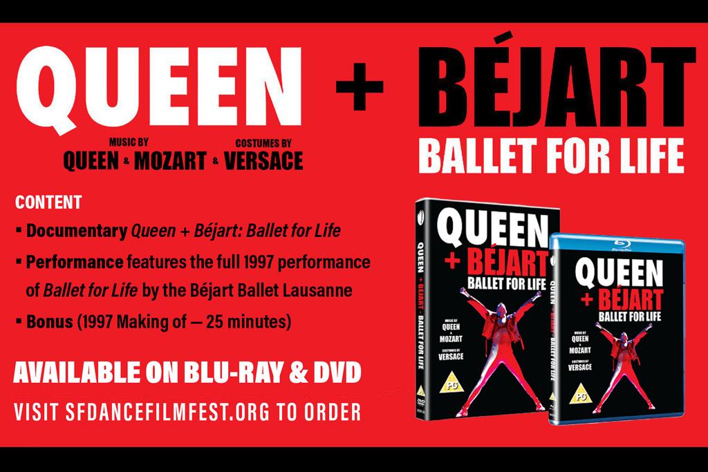 Queen + Bejart DVD