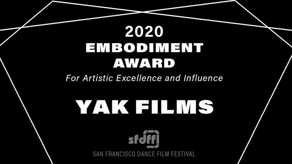 2020 Embodiment Award Winner YAK Films