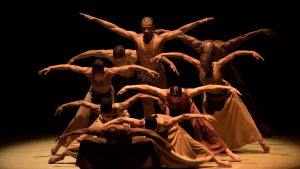 ALVIN AILEY AMERICAN DANCE THEATER IN PERFORMANCE AT LINCOLN CENTER
