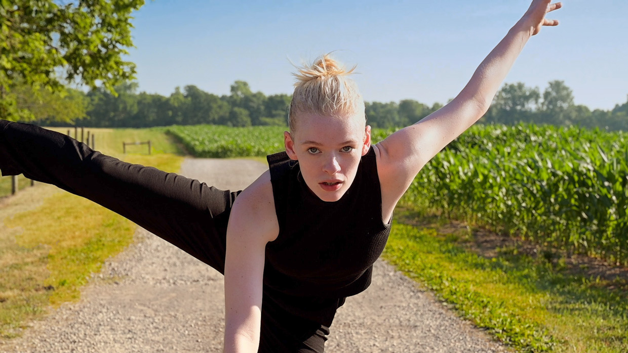 """Still from """"Attention Span"""" by Mitchell Rose dance film at SFDFF 2021"""