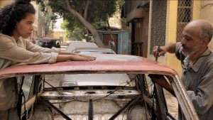 "Film still from ""Belia"" documentary dance film by Eman Hussein at SFDFF 2021"