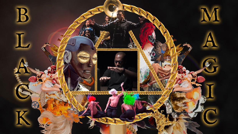 Promo image for Black Magic by Rashaad Newsome Live Capture at SFDFF 2021