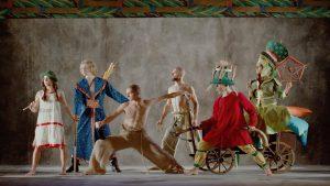 Still from Bória by Brzemi Zdjcie dance film at SFDFF 2021