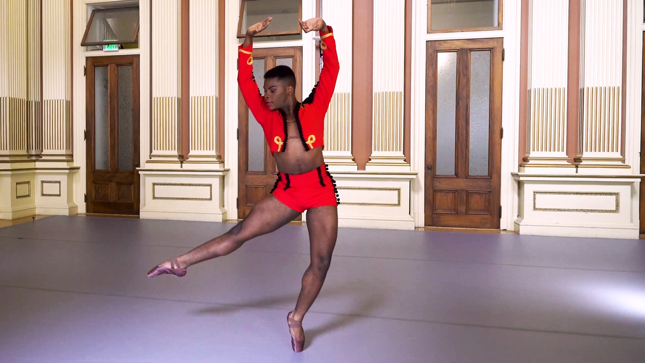 Still from Carmen by Alberto Alonso dance film at SFDFF 2021