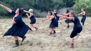 "Film still from ""Drumset"" by Evie Ladin MoToR/dance dance film at SFDFF 2021"