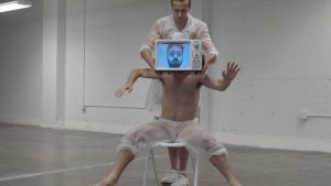 """Film still from """"Elsewhere"""" dance film by Whim W'Him at SFDFF 2021"""