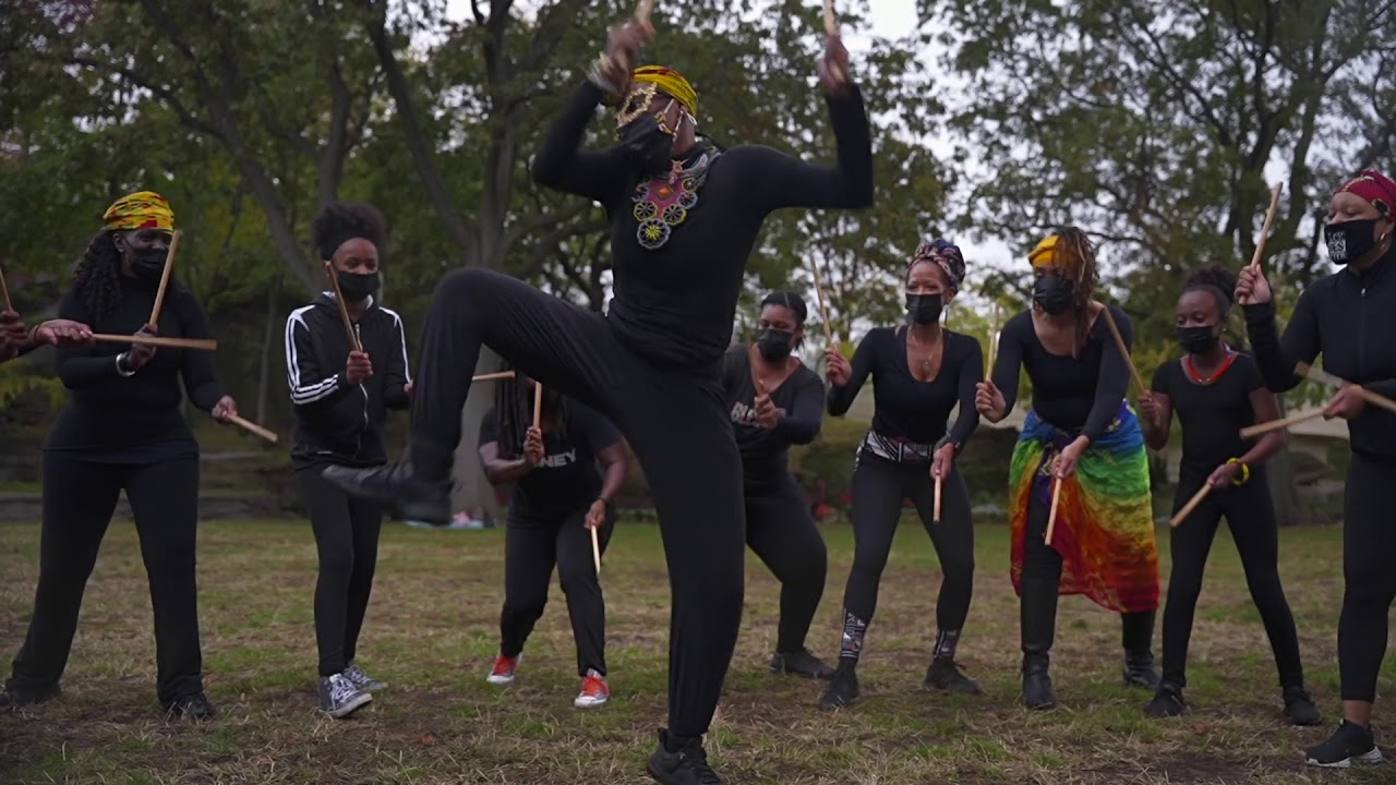 Still from Exploring the Rise of Afro Dances in America by Angel Kaba at SFDFF 2021