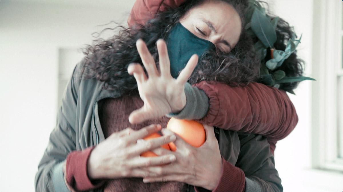 "Karla Quintero in ""Flavedoom"" dance film at SFDFF 2021"