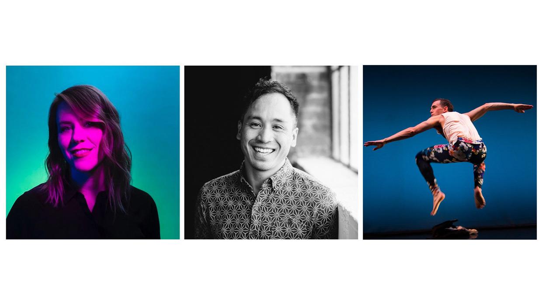 Lindsay Gauthier, Melecio Estrella, Andrew Ward 2021 Co-Lab Artists