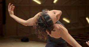 """Lisa Cano dancer in """"Lisa"""" documentary film by Manoela Gonçalves at SFDFF 2021. Photo: Wictor Hugo Pedroso"""