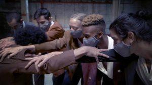 Still from Los Perros del Barrio Colosal by Omar Román De Jesús dance film at SFDFF 2021