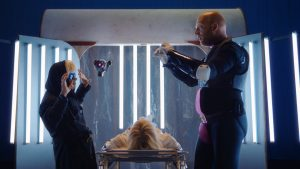 "Film still from ""MeTube: August sings 'Una furtiva lagrima'"" by Daniel Moshel dancefilm at SFDFF 2021"