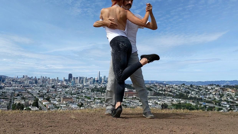 "Still from ""Milongueando en SF"" by Juliet McMains dance film at SFDFF 2021"