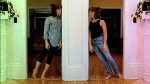 """Film still from """"Portal"""" by Hannah Westbrook dance film at SFDFF 2021"""