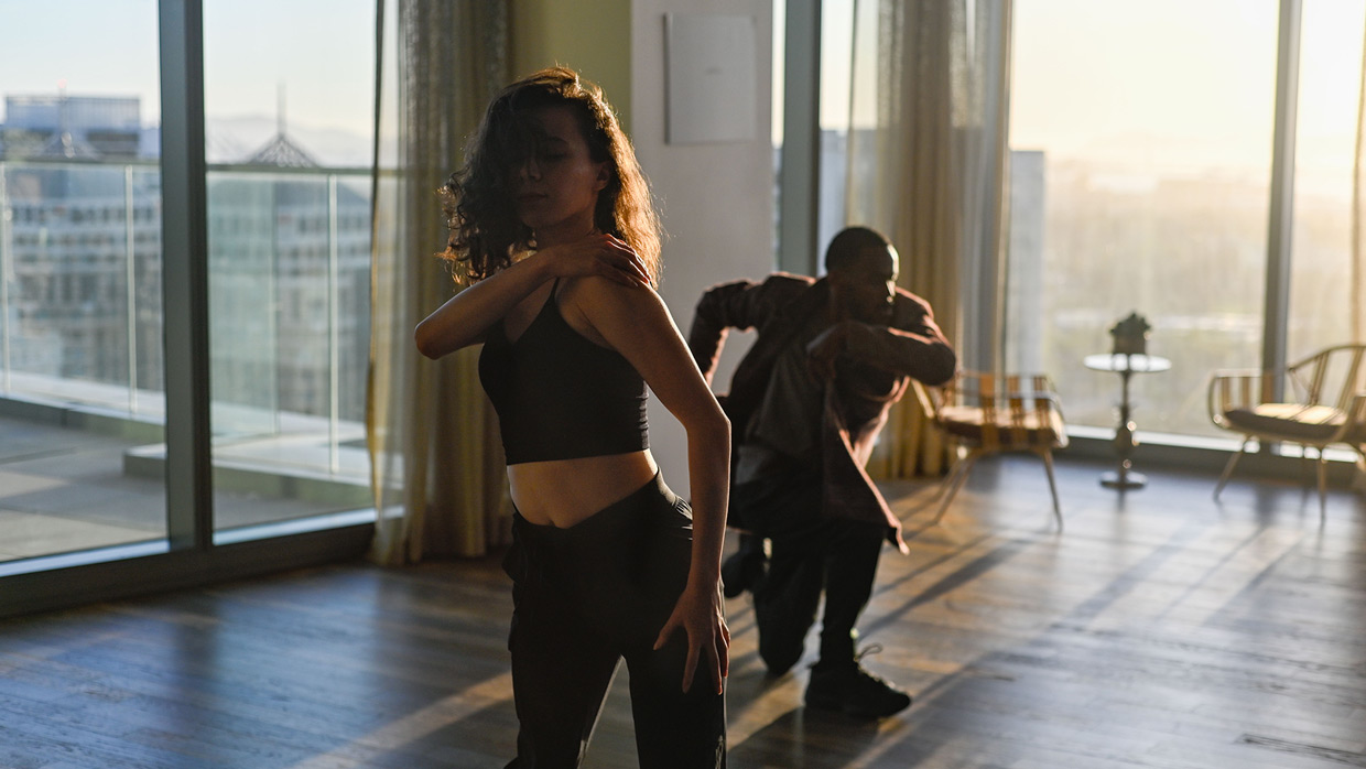 Still from What I See by Yoram Savion and Oakland Ballet dance film at SFDFF 2021